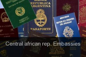 Central african rep. Embassies