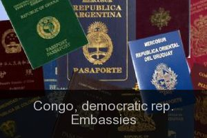 Congo, democratic rep. Embassies