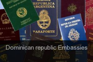 Dominican republic Embassies