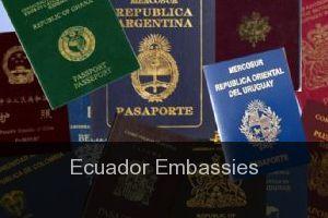 Ecuador Embassies - Directory - Listings - Guide