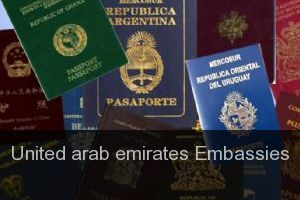 United arab emirates Embassies